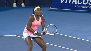 Coco Gauff wins Delray Beach Open match