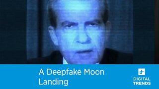 A Deepfake Moon Landing