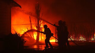 Strong Winds Could Help Spread California Wildfires
