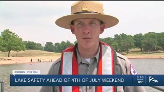 Officials stress water safety ahead of July 4th weekend