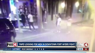 Fort Myers fight caught on camera