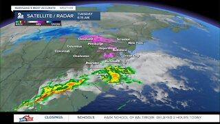 WMAR-2 News Weather Update