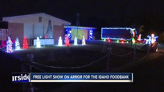 Synchronized Christmas lights show brings in donations for the Idaho Foodbank