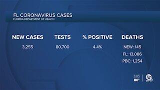 A grim milestone: Florida coronavirus death toll passes 13,000