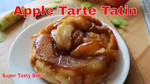 Apple Tarte Tatin Recipe - Upside Down Caramel Apple Tart