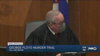 Jury now seated in Floyd murder trial