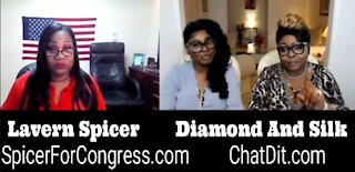 EP 51 | Diamond and Silk talked to Lavern Spicer about her Congress run