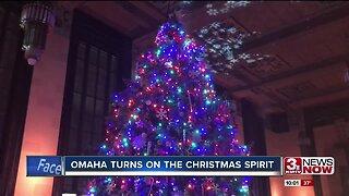Omaha turns on the lights and Christmas spirit