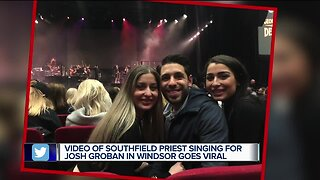 Video of Southfield priest singing for Josh Groban goes viral