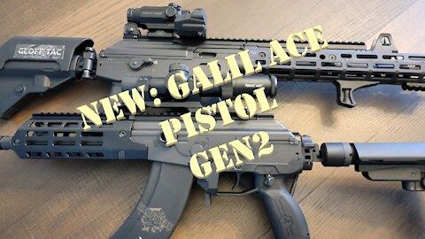 IWI GALIL ACE PISTOL G2