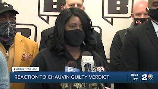 Dr. Tiffany Crutcher responds to Chauvin trial verdict