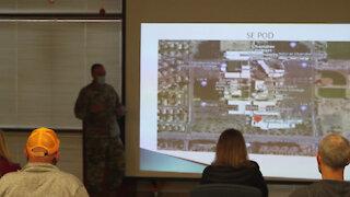 Arizona National Guard medics train retired medical professionals and volunteers