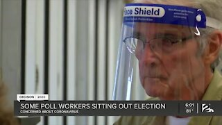 Some poll workers sitting out election