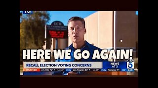 VOTING IRREGULARITIES for Gavin Newsom Recall Election today
