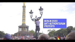 Berlin 2020 Anti Authoritarian Demonstration