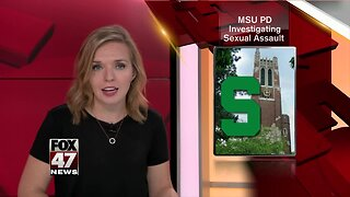 MSU investigating sexual assault