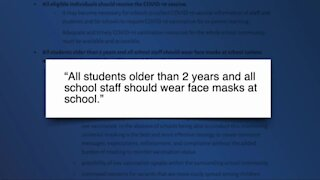 American Academy of Pediatrics Recommends Universal Masking in Schools, but not Everyone Agrees