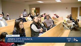 Jenks City Council approves mask ordinance