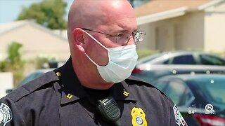 'Split Second Decision': Riviera Beach police captain helps save shot infant's life