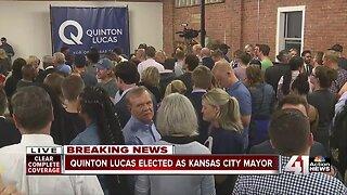 Quinton Lucas elected KC mayor