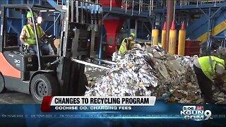 Cochise County cuts back recycling program