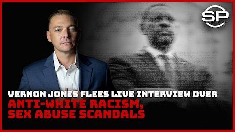 Vernon Jones Flees Interview Over Anti-White Hate, Sex Assault Scandals