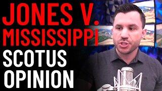 Jones v Mississippi SCOTUS Opinion