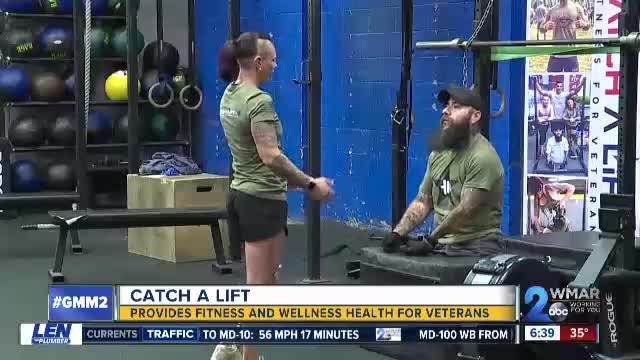Catch A Lift Provides Fitness and Wellness Health for Veterans