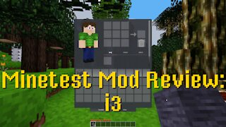 Minetest Mod Review: i3