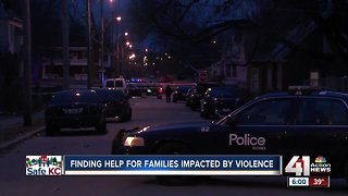 Finding help for families impacted by violence