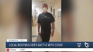 San Diego bodybuilder's battle with COVID-19