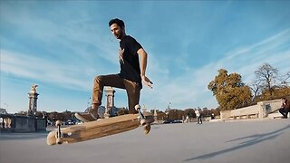 Innovative Long-boarders Fuse Dancing With Tidy Tricks In Impressive Video