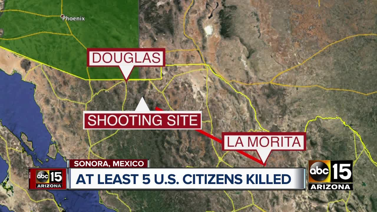 Relatives say at least 5 US citizens killed in north Mexico