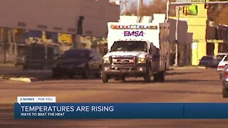 EMSA warns about heat-related illnesses