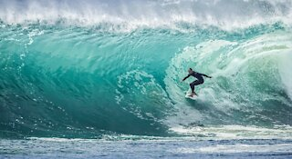 surf boarding