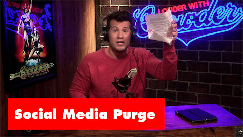 The Friday Vlog | The Social Media Purge | Conservative Voices Targeted