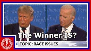 Biden or Trump? First Debate in the Bag