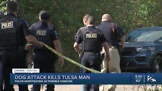 Dog attack kills Tulsa man