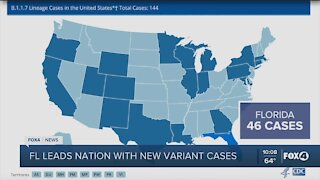 Florida leads nation in variant cases