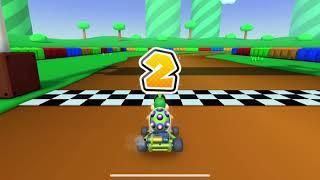 Mario Kart Tour - Clearing Fire Bro Cup Challenge Smash Small Dry Bones (Mario vs. Luigi Tour)