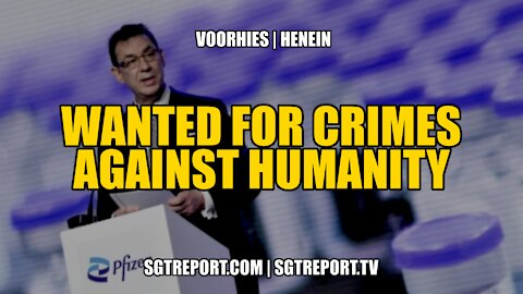 WANTED: FOR CRIMES AGAINST HUMANITY -- ZACH VOORHIES & MARYAM HENEIN