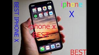 BEST iphone x