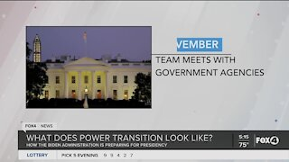 How does power transition work