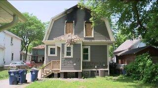 Police investigate second arson at a Racine home
