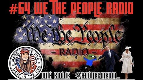 #65 We The People Radio w/ Bootie @Bootlegmedia_ - Do Clones Walk Amongst Us?