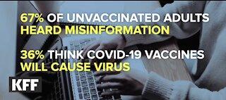 COVID misinformation threat to public health
