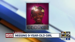 Police search for missing 9-year-old girl