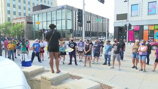 BLM protest in Appleton