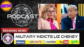 MILITARY INDICTS LIZ CHENEY