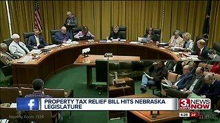 Property tax relief bill hits Nebraska legislature